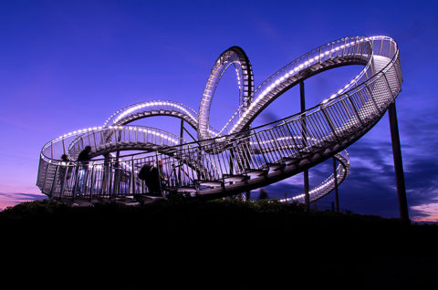 Landmarkentour, Tiger & Turtle, © Torsten Thies