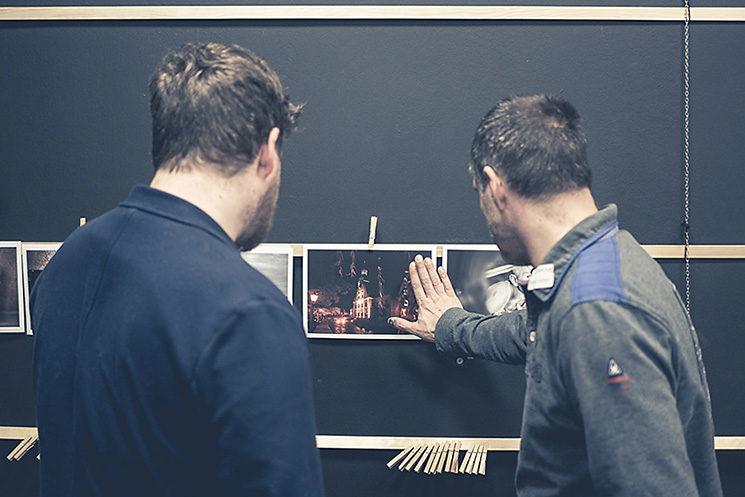 Seminar zur Bildbesprechung mit Thomas Adorff und Klaus Wohlmann