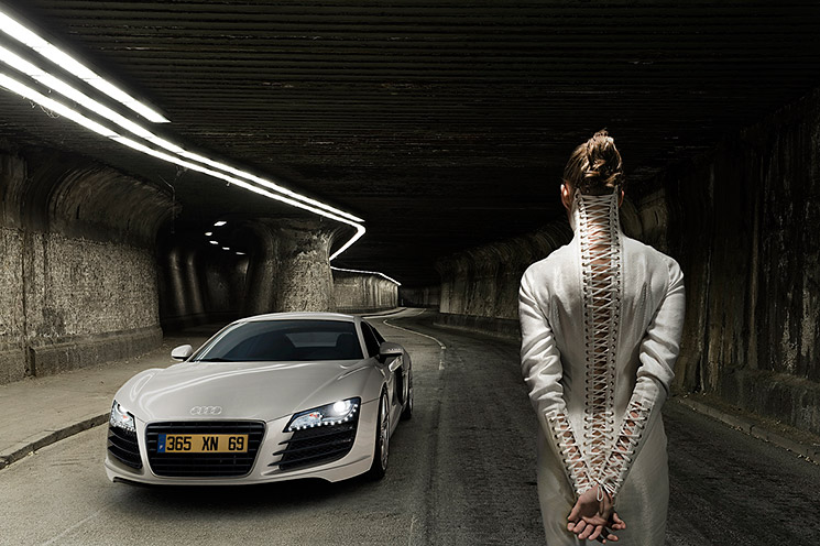 Supercar Fashion Shooting – mit Robin Preston