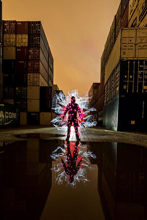 Lightpainting f. Fortgeschrittene, © ZOLAQ