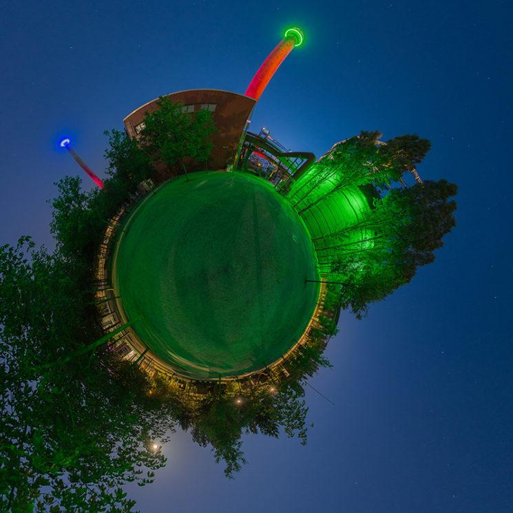 Nächtliches Panorama im LaPaDU, © Thomas Bredenfeld