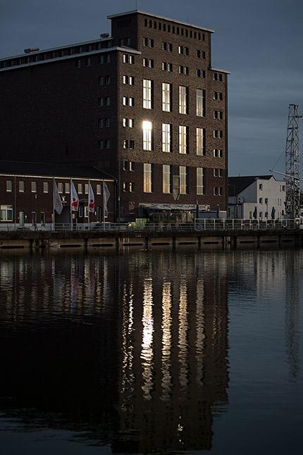 Duisburger Innenhafen, ©Klaus Wohlmann