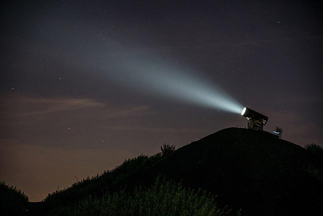 Nachts im Ruhrgebiet, ©Klaus Wohlmann