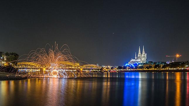 Lightpainting für Einsteiger in Köln, ©ZOLAQ