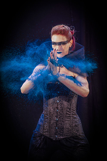 Fantasy-Shooting, © Sacha Goerke