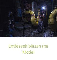 Entfesselt blitzen mit Model mit Thomas Adorff