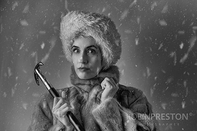 40er Jahre Filmporträts, Schneekönigin, ©Robin Preston