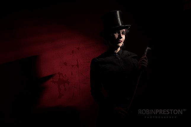 Jack the Ripper meets Post Victorian Industrial, © Robin Preston
