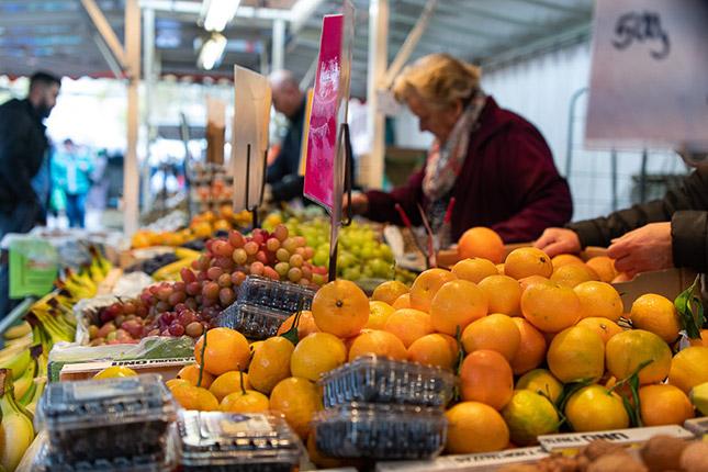 Reisefotografie mit Wochenmarkt, © Klaus Wohlmann