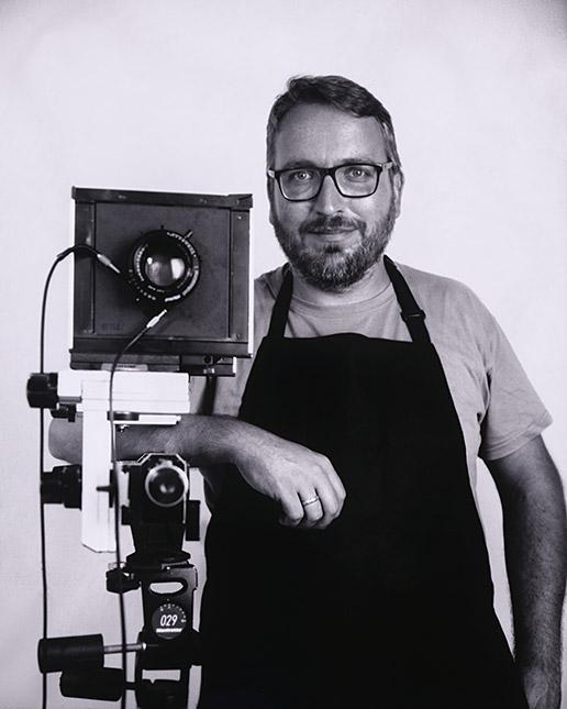 Cámara Minutera Porträt von Erik Schlicksbier, © Marc Kairies