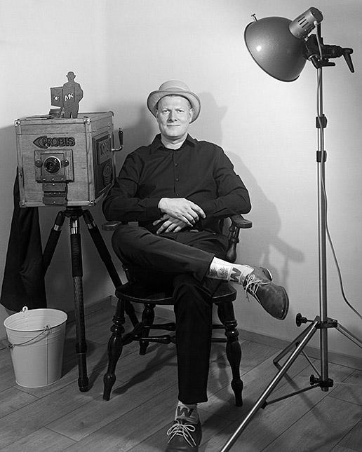 Cámara Minutera Porträt von Marc Kairies entwickelt in Caffenol, © Erik Schlicksbier