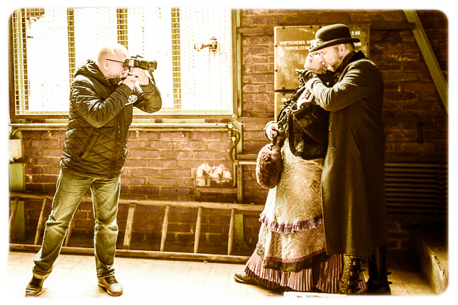 Jack the Ripper meets Post Victorian Industrial, © Photo+Adventure