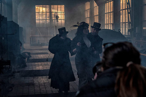 Jack the Ripper meets Post Victorian Industrial, © Robin Preston