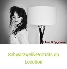 Schwarzweiß-Porträts on Location