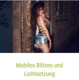 Mobiles Blitzen und Lichtsetzung