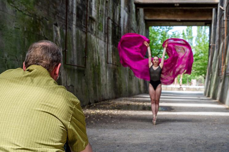 Ballettfotografie mit Sascha Hüttenhain beim Sommer-Intermezzo 2020