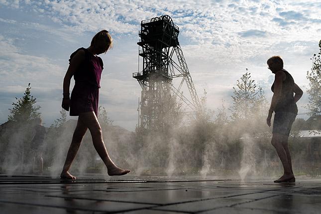 Fotoworkshop: Menschen und Architektur in Symbiose ; © Klaus Wohlmann