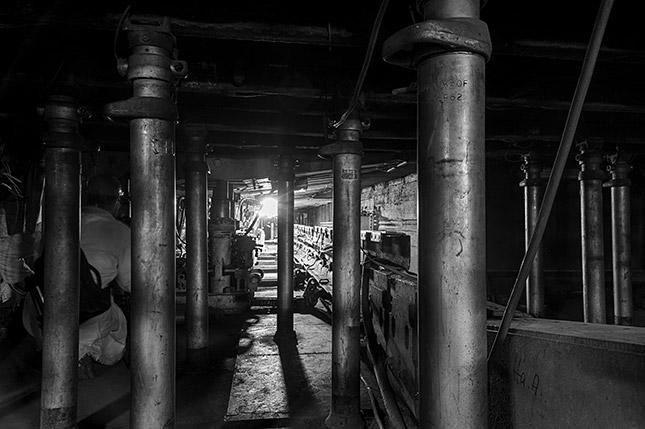Unter Tage ist es schön?! - Fotoexkursion Trainingsbergwerk Recklinghausen; © Torsten Thies