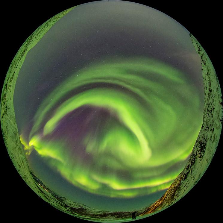 Polarlicht-Fotografie, © Katja Seidel
