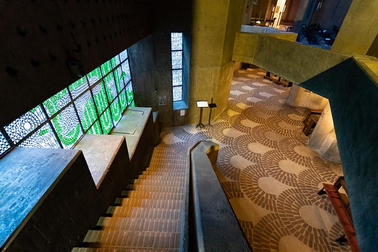 Moderne Architekturfotografie: Wallfahrtsdom Neviges; © Klaus Wohlmann