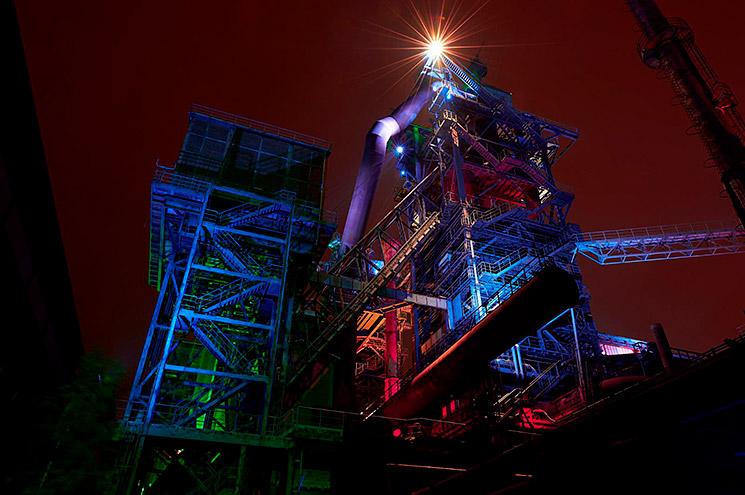 Langzeitbelichtung bei Nacht, © Olav Brehmer