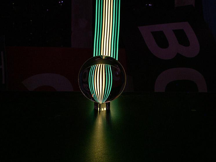Experimentelles Lightpainting, © Olaf Schieche