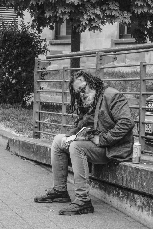 Auf der Mauer, auf der Lauer – Streetfotografie (c) Carsten Schröder